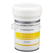 Christina Sea Herbal Beauty Mask Vanilla (For Dry Skin)/ Ванильная маска красоты для сухой кожи 250 мл