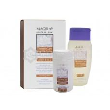 MAGIRAY ThermoCare Warm-up Peeling/ Система «Термокэа»   - 2-х этапный разогревающий, раскрывающий поры и обновляющий кожу пилинг (скраб +гель-активатор) (100мл(70гр)/125мл)