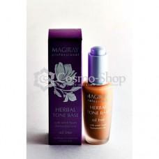MAGIRAY RESTORE HERBAL TONE BASE (for oily problemskin)/ Растительная тональная база для жирной кожи(30мл)