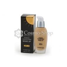 MAKE-UP4U Protective Hydratant Liquid Make-Up/ Жидкий тональный крем для всех типов кожи  СПФ-15, 30мл